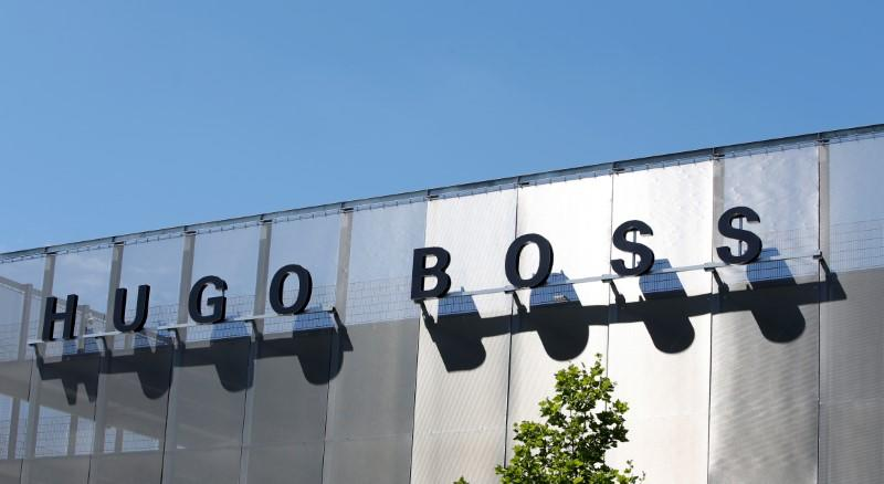 fdc39e58e Hugo Boss shares rise on wholesale, retail acceleration