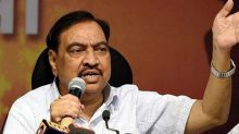 Eknath Khadse Likely to Cross Over to NCP Next Week
