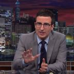 "John Oliver Mocks ""Massive Dozens Of White Nationalists"" Who Marched On D.C. As He Taped"