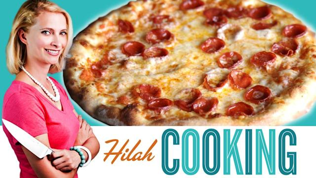 Hilah Cooking | Homemade Pizza