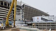 Ni una pandemia frena las obras del Santiago Bernabéu