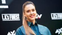 Jessica Alba says she was banned from making eye contact with cast members on the set of 'Beverly Hills, 90210'