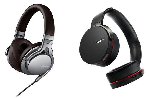 Sony's latest headphones tackle high-res and bass-heavy listening