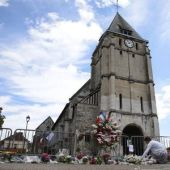 France had been hunting second church attacker after tip-off