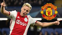'Van de Beek will work really well at Man Utd' - Ajax star can be a 'fantastic' addition to Solskjaer's ranks, says Bosnich