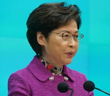 Hong Kong's leader is being paid in cash due to US sanctions. Carrie Lam earns $56,000 a month and says money is now piling up at her house.