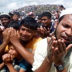 Tens of thousands of Rohingya mark 'Genocide Day' amid tensions in Bangladesh camps