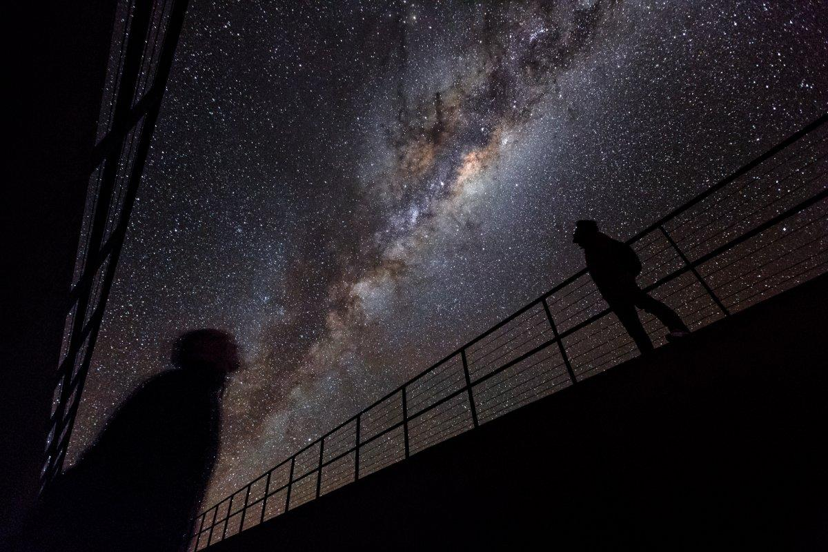 Wormhole to another galaxy may exist at the centre of our Milky Way, astrophysicist claims