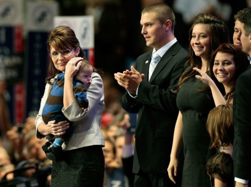 Sarah Palin says she was 'chosen' to be Trig's mother