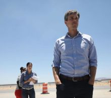 Possible 2020 candidate Beto O'Rourke meets with young refugees at US-Mexico border