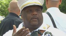 Chief John Alston Jr. from the New Haven Fire Dept. spoke about the emergency