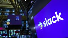 Slack ends higher as Barclays initiates bullish coverage at overweight with $45 PT