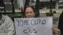 Los datos falsos sobre COVID que difundieron manifestantes sin cubrebocas en CDMX