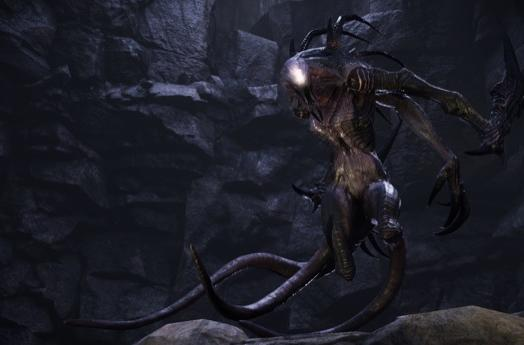 Evolve's Wraith monster steals the show