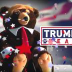 'Trumpy Bear' advert ridiculed after strange video airs in Washington