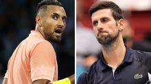 'Ain't holding back': Nick Kyrgios' fresh swipe at Novak Djokovic