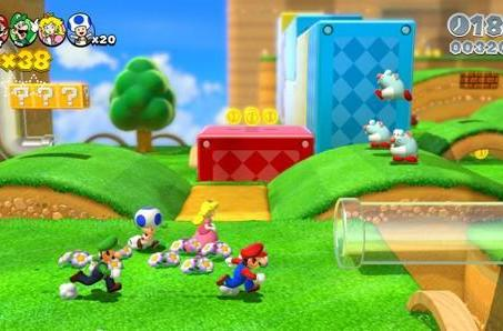 Finding Mario's co-op sweet spot with Super Mario 3D World