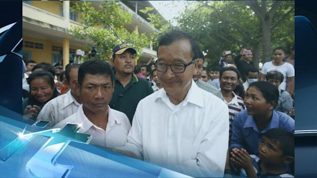 Breaking News Headlines: Cambodian Opposition Makes Gains in Elections