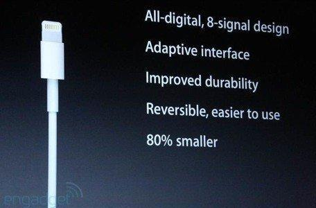Apple unveils Lightning, its new, smaller dock connector for the iPhone (Updated)