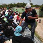 As Mexico Cracks Down On Caravan, Migrants Board A Deadly Train North