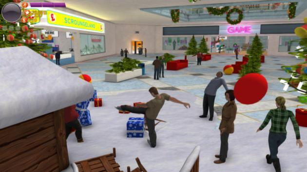 GAME's festive shopping simulator is equal parts hilarious and awful