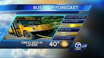 Bus Stop Forecast for Tuesday, October 22nd