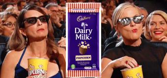 Cadbury has introduced the ultimate movie snack