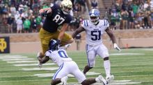 Notre Dame's Michael Mayer Makes Freshman All-American Watch List