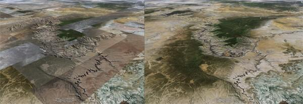 Google upgrades Earth with better rendering, teaches it to sing in perfect harmony