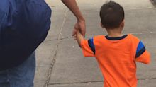 Asylum seeker and son reunite, while thousands of other families remain in limbo