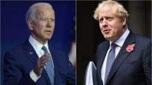 Boris Johnson Monumentally Screwed Up His Message Congratulating Joe Biden