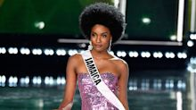 Internet says Miss Jamaica, rocking natural hair, was robbed of Miss Universe title