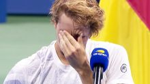 Alexander Zverev breaks down in devastating runner-up speech