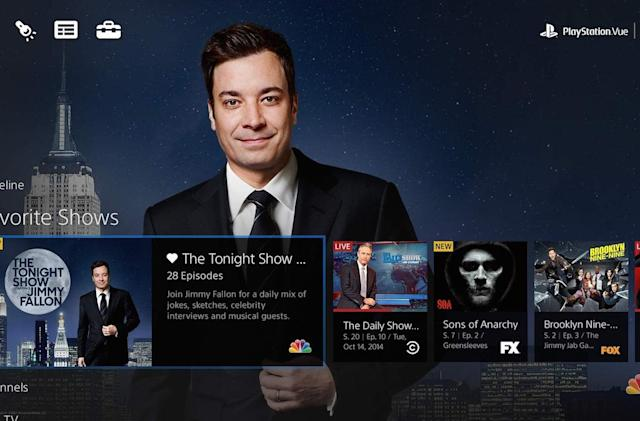 Sony's PlayStation Vue internet TV gets Chromecast support
