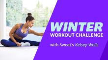 Winter Workout Challenge with Kelsey Wells: Full body stretch and recovery