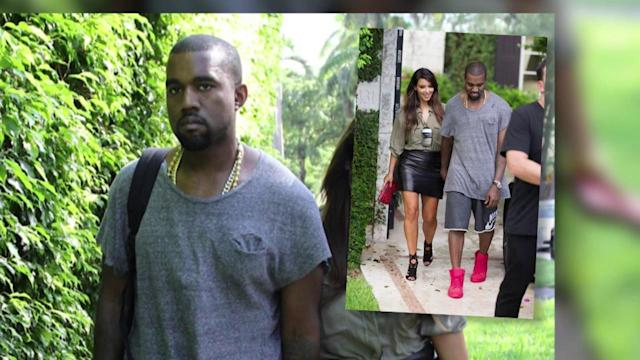 Kim Kardashian And Kanye West Hold Hands After Reuniting