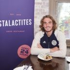 Tennis Young Gun Stefanos Tsitsipas Honoured with Special Edition Souvlaki with 100% of Sales Going to Bushfire Relief
