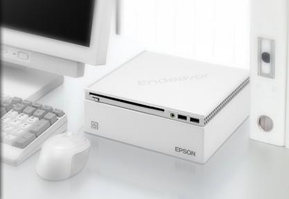 Epson goes miniature with Endeavor ST100 micro PC