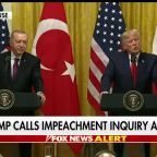 Trump: Impeachment inquiry a 'sham'