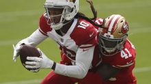 DeAndre Hopkins trade already pays dividends, as his huge day leads Cardinals' upset win over 49ers