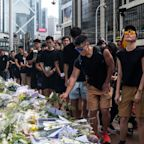 Hong Kong's Freedom Protesters Mourn Their Martyr at an Emotional Vigil