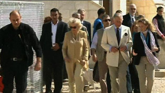 Royals visit Syrian refugee camp