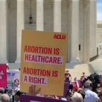 Abortion Rights Protest Held Outside US Supreme Court