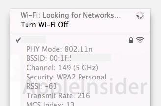 New Wi-Fi Diagnostics tool a part of Mac OS X 10.7 Lion