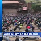 Yoga On The Rocks And Film On The Rocks Tickets On Sale Now