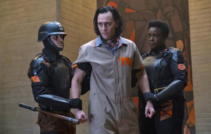 A still from the Disney series Loki.