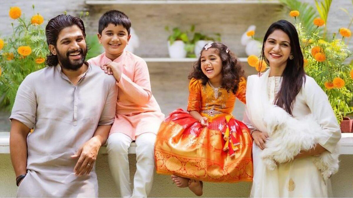 Allu Arjun's daughter Arha's Anjali Anjali song is so cute that you won't stop playing it on loop