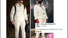 'Love Stealing Your Clothes': Priyanka Chopra is Relying on Nick Jonas' Wardrobe for Shoot in Germany