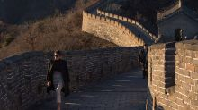 Photos from Melania Trump's visit to the Great Wall look like they're straight out of a magazine