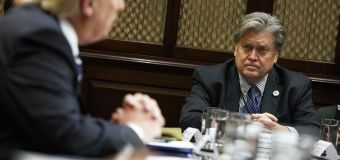 Bannon says White House deeply divided